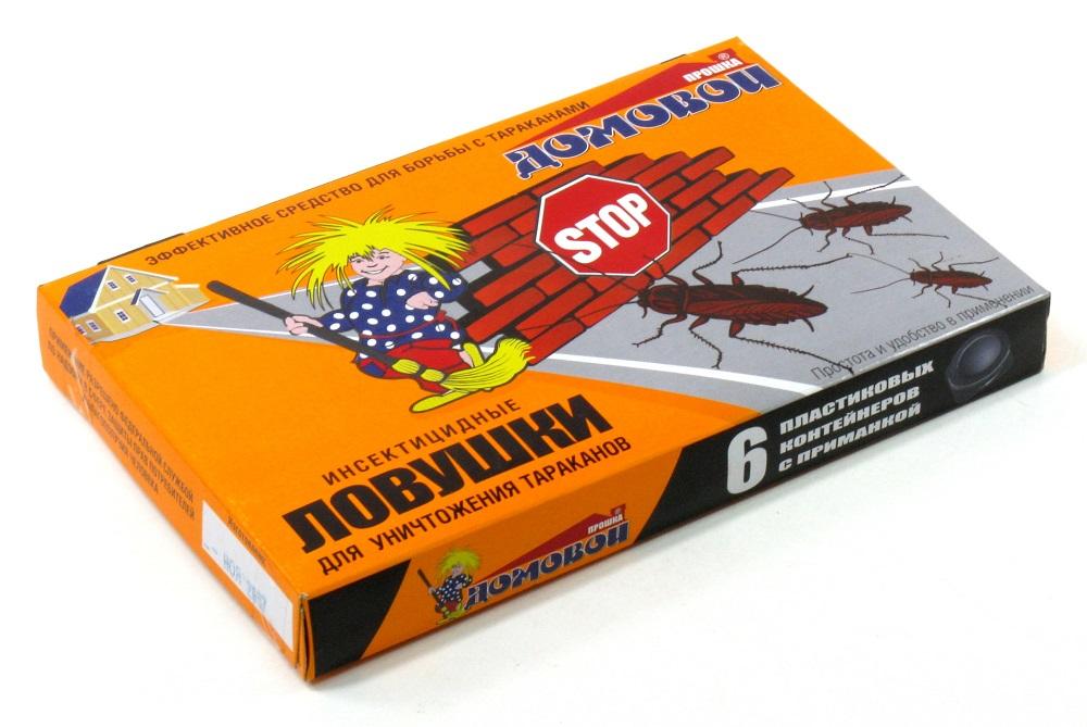 Ловушки против тараканов - средство вспомогательное