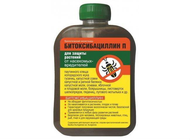 Битоксибациллин в борьбе с садово-огородными вредителями