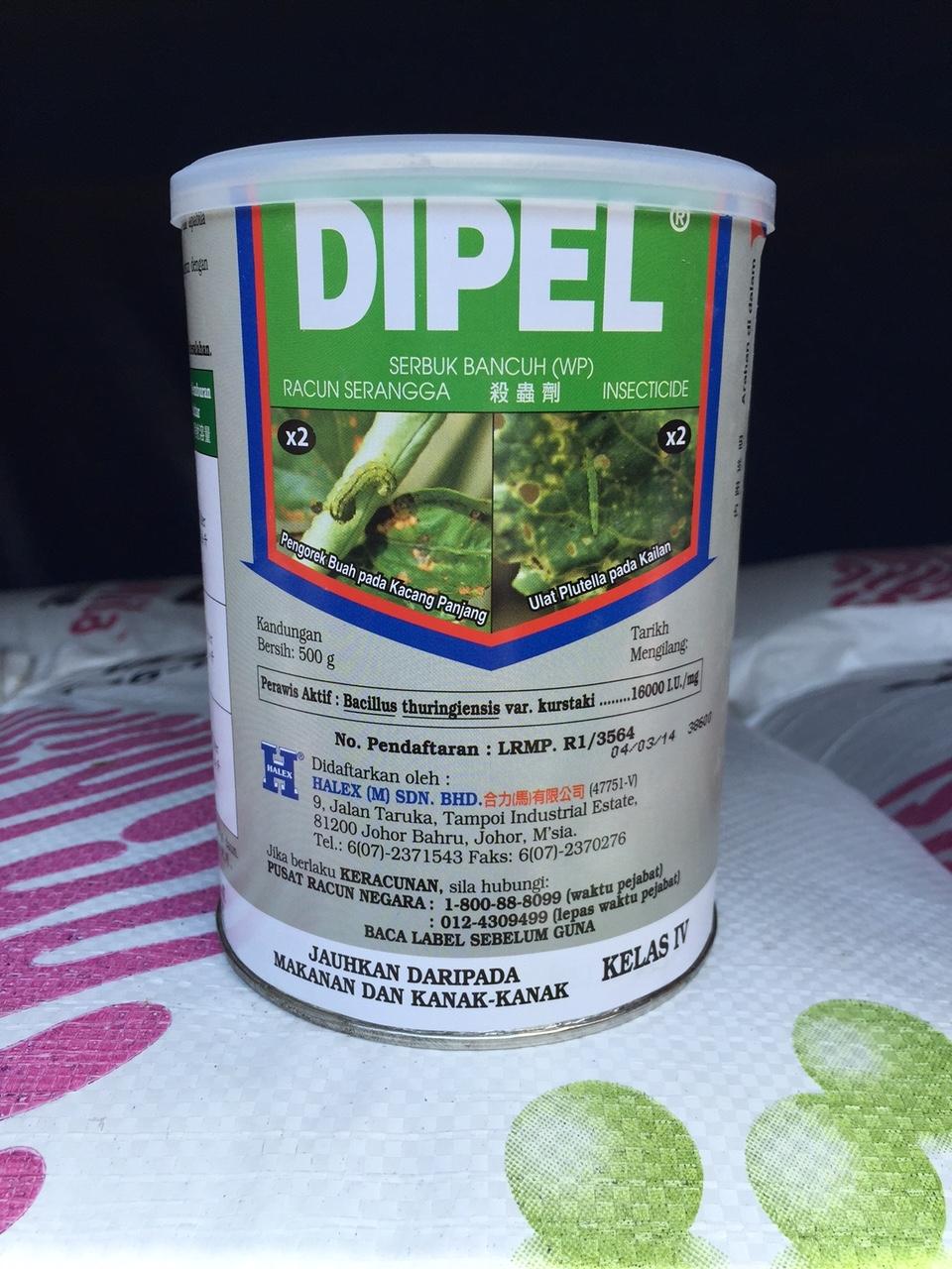 Дипел - эффективный биопрепарат